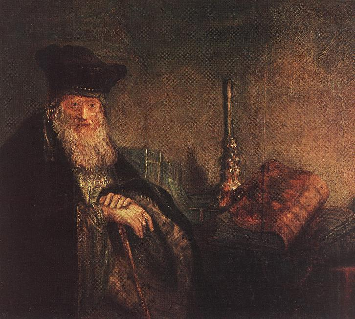 rembrandtvanrijn_old_rabbi_detail